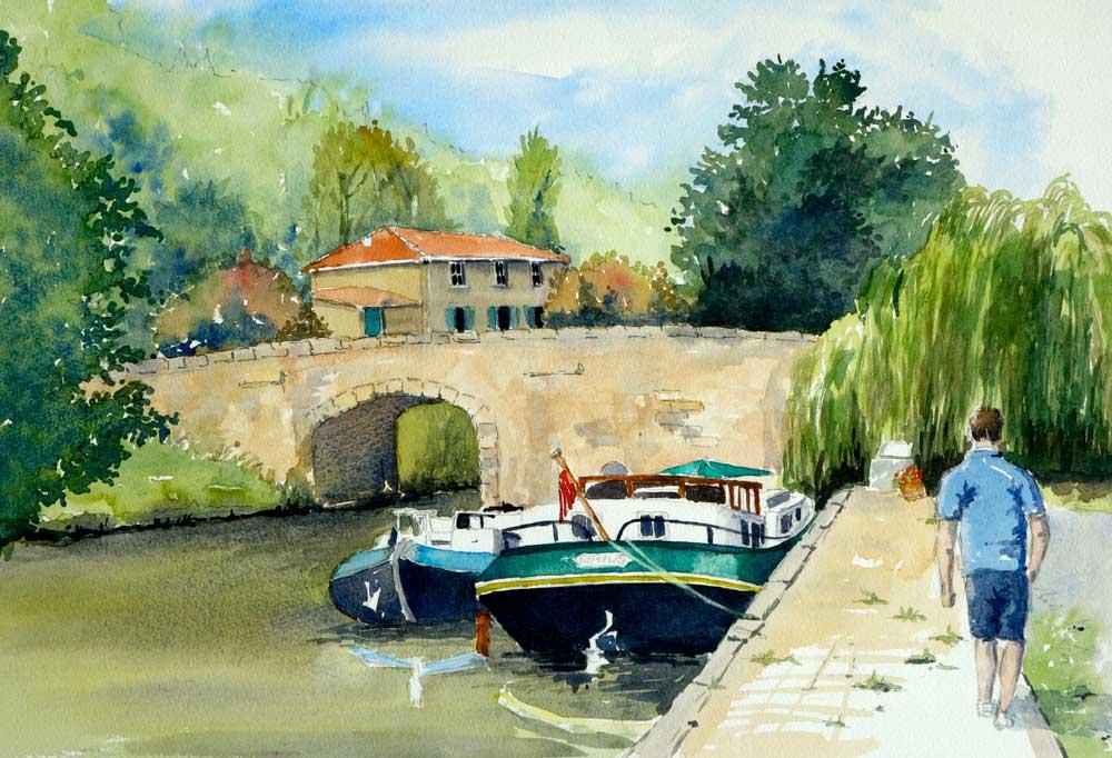Canal de Midi, France
