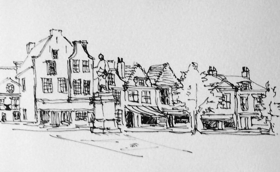 The Markt, Delft