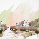 Harbour, Castletown, Isle of Man, $425 (framed)